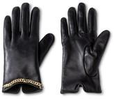 Thinslate Women's Glove with Chain Detail Black - Merona