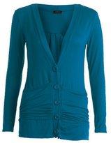 GirlzWalk ® Ladies Women Long Sleeve Boyfriend Top Button Up Cardigan Plus