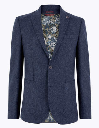 M&S CollectionMarks and Spencer Tailored Fit Wool Jacket