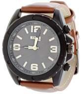 Steve Madden Men's Leather & Alloy 42mm Watch