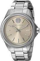 Vince Camuto Women's VC/5267LRSV Light Rose Gold-Tone Dial Silver-Tone Bracelet Watch