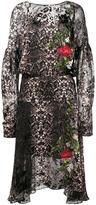 Preen by Thornton Bregazzi python print dress - women - Silk - XS