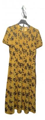 Michael Kors Yellow Viscose Dresses