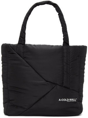 A-Cold-Wall* Black Padded Tote