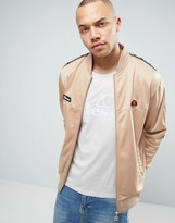 Ellesse Poly Track Jacket With Taping