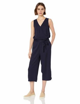 Daily Ritual Amazon Brand Women's Tencel Sleeveless Wrap Jumpsuit