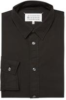 Maison Margiela Men's Solid Dress Shirt