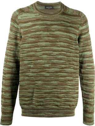 Roberto Collina Abstract Pattern Relaxed-Fit Jumper