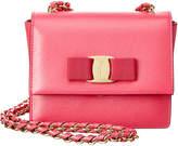 Salvatore Ferragamo Ginny Small Vara Leather Shoulder Bag