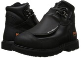 Timberland Met Guard 6 Steel Toe (Black Ever-Guard Leather) Men's Work Lace-up Boots