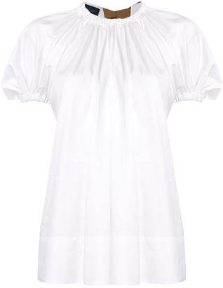 Eudon Choi Summers gathered blouse