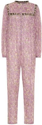 Etoile Isabel Marant Vasco floral cotton jumpsuit