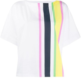 Marni rear logo striped T-shirt