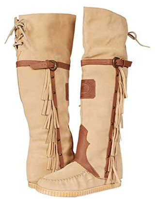 Dingo Caddo (Natural Suede) Women's Boots