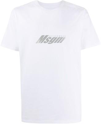 MSGM performance printed T-shirt