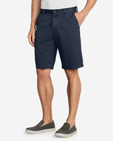 "Eddie Bauer Men's Legend Wash 11"" Chino Shorts - Solid"