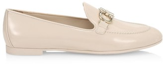 Salvatore Ferragamo Trifoglio Patent Leather Loafers
