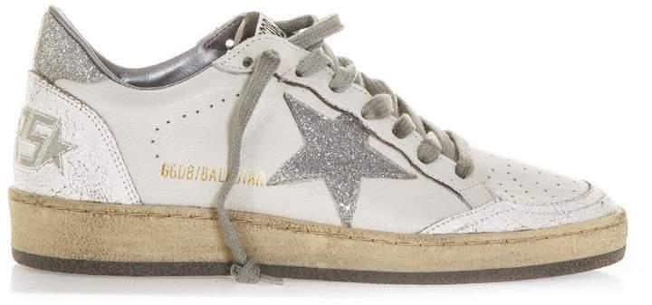 Golden Goose White Vintage Ball Star Sneaker
