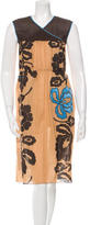 Sophie Theallet Printed Sleeveless Dress w/ Tags