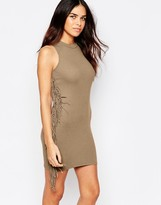 AX Paris Body-Conscious Dress with Tassels