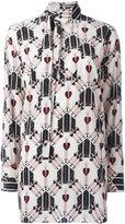 Valentino heart and dagger shirt