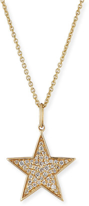 Sydney Evan 14k Medium Diamond Star Charm Necklace