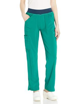 Carhartt Women's Plus Size Straight Leg Knit Waist Cargo Scrub Pant