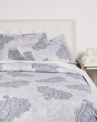 Whit & Alex Blue Floral Duvet Set