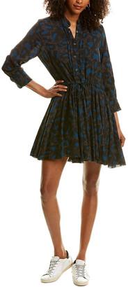 Zadig & Voltaire Drawstring Mini Dress