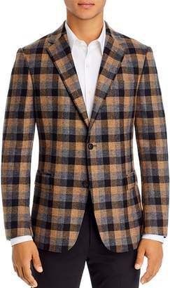 Ermenegildo Zegna Drop 8 Plaid Slim Fit Sport Coat