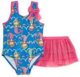 Asstd National Brand Girls One Piece+Cover-Ups-Toddler