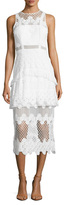 Alexis Zuzanna Embroidered Lace dress