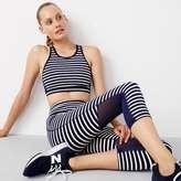 J.Crew New Balance for performance mesh-back sports bra in stripe