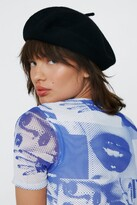 Thumbnail for your product : Nasty Gal Womens Ooh La La Beret - Black - ONE SIZE, Black