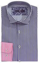 Stone Rose Ombre Stripe Dress Shirt