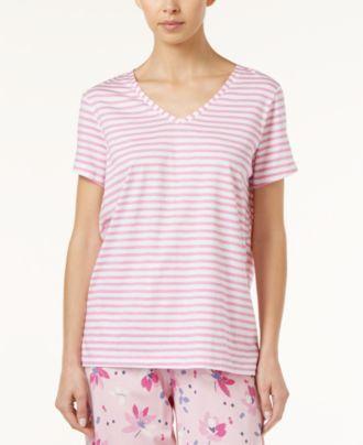 Hue Striped Pajama T-Shirt