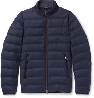 Loro Piana Rain System Wool And Silk-Blend Down Jacket