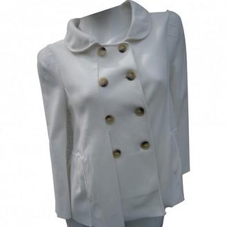 Ermanno Scervino White Jacket for Women