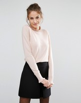 Oasis Frill Neck Sweater