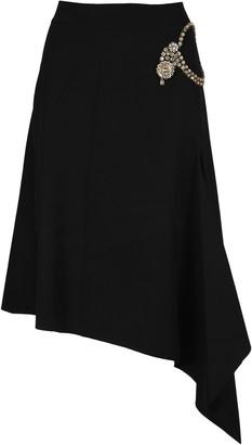J.W.Anderson Embellished Asymmetric Skirt