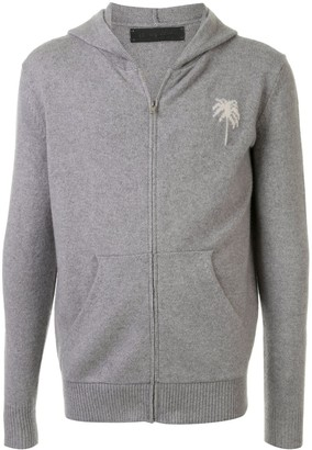 The Elder Statesman Palm Tree cashmere hoodie