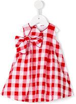 La Stupenderia checked dress - kids - Cotton/Polyester - 6 mth