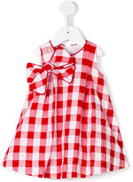 La Stupenderia checked dress - kids - Cotton/Polyester - 9 mth
