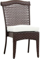 Pool' Allerdale Stacking Patio Dining Chair with Cushion Bloomsbury Market Color: Pool