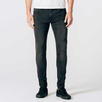 DSTLD Skinny Jeans in Stretch Faded Black