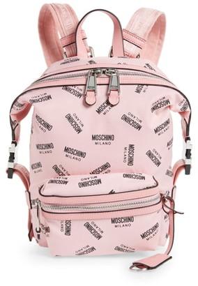 Moschino Small Logo Backpack