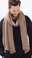Esprit OUTLET basic scarf in rib knit