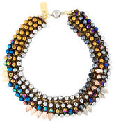 Assad Mounser Multi-colored Beaded Necklace