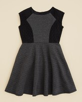 Blush by Us Angels Girls' Quilted Double Knit Dress - Sizes 7-16