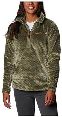 Columbia Fire Sidetm Sherpa 1/4 Zip (Shark) Women's Clothing